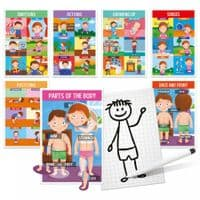 Kids Educational How We Are Made Human Body Game